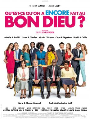 Jaquette dvd Qu'est-ce Qu'on A Encore Fait Au Bon Dieu ?