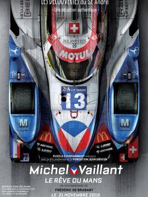 Jaquette dvd Michel Vaillant, Le Rêve Du Mans