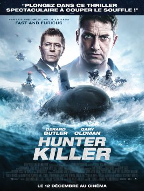 Jaquette dvd Hunter Killer