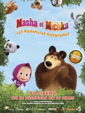 Masha Et Michka - Les Nouvelles Aventures DVD et Blu-Ray