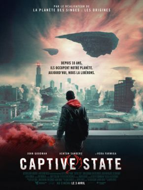 Jaquette dvd Captive State