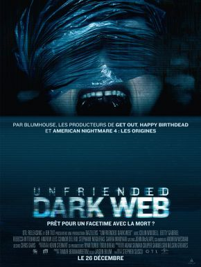 Jaquette dvd Unfriended: Dark Web