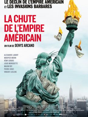 Jaquette dvd La Chute De L'Empire Américain