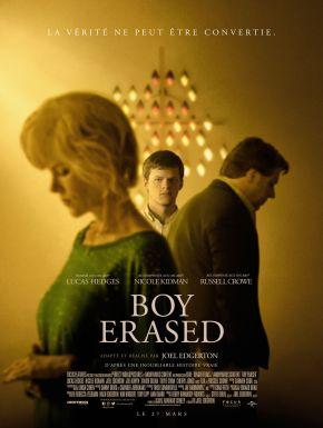 Jaquette dvd Boy Erased