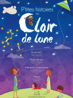 Jaquette dvd P'tites Histoires Au Clair De Lune