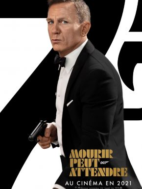 Jaquette dvd Bond 25