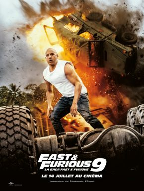 Jaquette dvd Fast & Furious 9