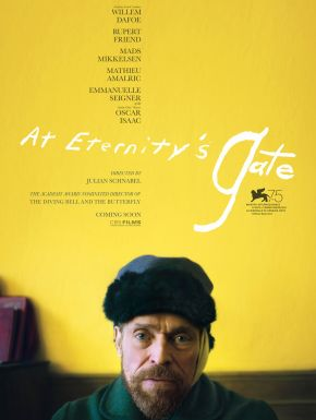 Jaquette dvd At Eternity's Gate