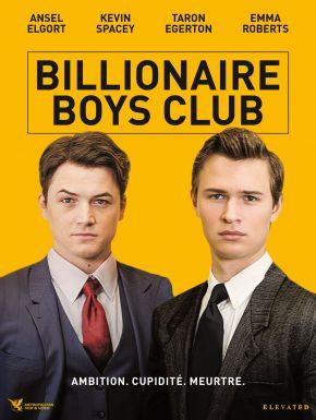 sortie dvd  Billionaire Boys Club