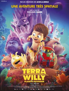 Sortie DVD Terra Willy : Planète Inconnue