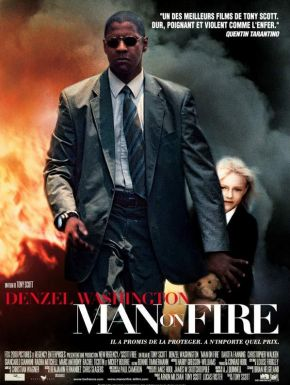 Jaquette dvd Man On Fire