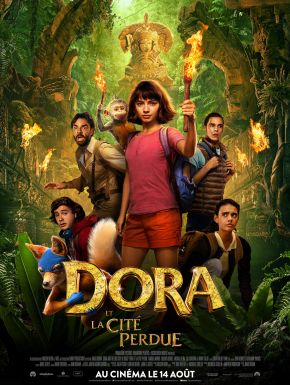 sortie dvd  Dora Et La Cité Perdue