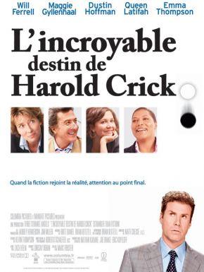 Sortie DVD L'Incroyable destin de Harold Crick