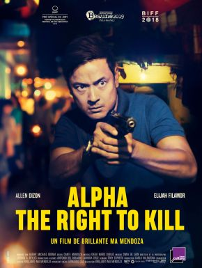 Sortie DVD Alpha - The Right To Kill