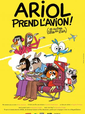 Ariol Prend L'avion en DVD et Blu-Ray