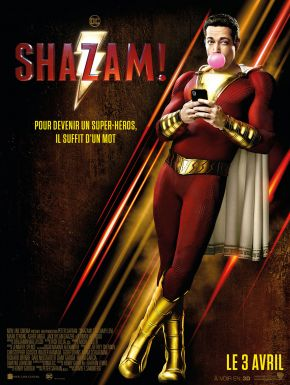 Jaquette dvd Shazam !