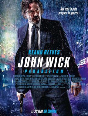 Jaquette dvd John Wick 3 - Parabellum