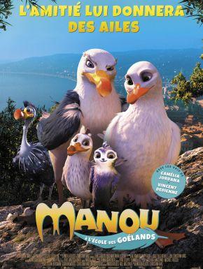 DVD Manou à L'école Des Goélands