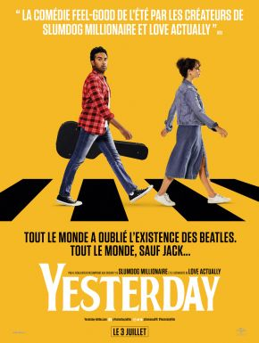 Yesterday DVD et Blu-Ray
