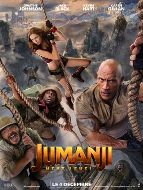 sortie dvd	  Jumanji : Next Level