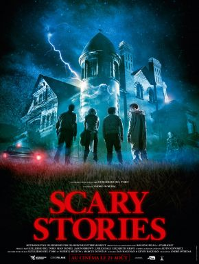 Jaquette dvd Scary Stories
