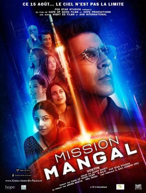 sortie dvd	  Mission Mangal