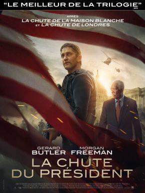 La Chute Du Président DVD et Blu-Ray