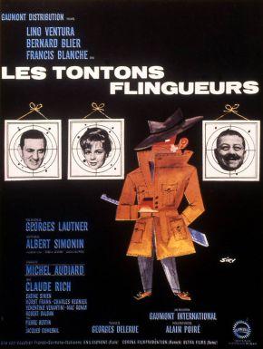 Jaquette dvd Les Tontons Flingueurs
