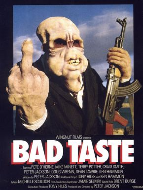 Bad Taste DVD et Blu-Ray