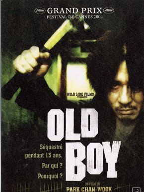 Old Boy DVD et Blu-Ray