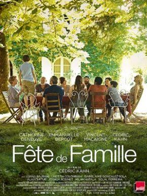 Jaquette dvd Fête De Famille