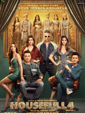 Housefull 4 DVD et Blu-Ray