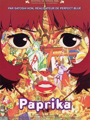 Paprika en DVD et Blu-Ray