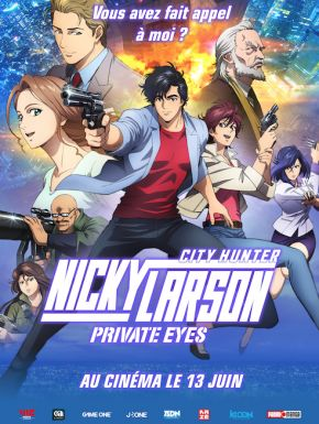 Sortie DVD Nicky Larson Private Eyes