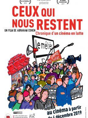 Jaquette dvd Ceux Qui Nous Restent Chronique D'un Cinéma En Lutte
