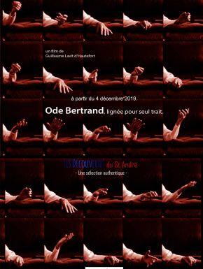 Jaquette dvd Ode Bertrand, Lignée Pour Seul Trait