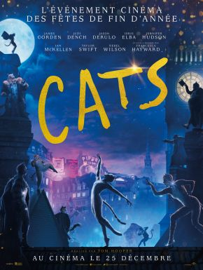 Cats DVD et Blu-Ray