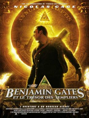 Sortie DVD Benjamin Gates Et Le Trésor Des Templiers