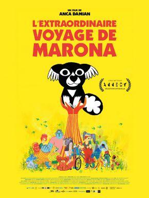 L'Extraordinaire Voyage De Marona DVD et Blu-Ray