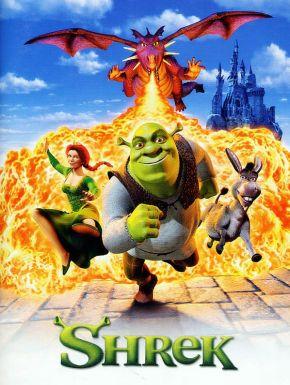 Jaquette dvd Shrek