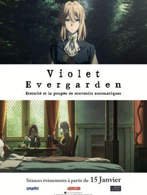 Sortie DVD Violet Evergarden : Eternité Et La Poupée De Souvenirs Automatiques