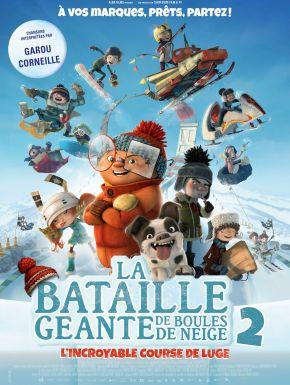La Bataille Géante De Boules De Neige 2, L'incroyable Course De Luge