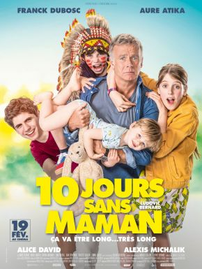 10 Jours Sans Maman en DVD et Blu-Ray