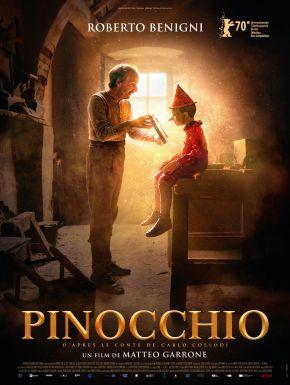sortie dvd  Pinocchio 2020
