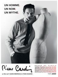 sortie dvd  Pierre Cardin