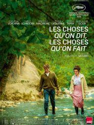 sortie dvd  Les Choses Qu'on Dit, Les Choses Qu'on Fait