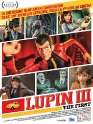 sortie dvd  Lupin 3