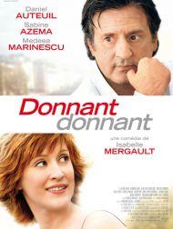 sortie dvd  Donnant, Donnant