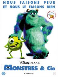 sortie dvd  Monstres & Cie