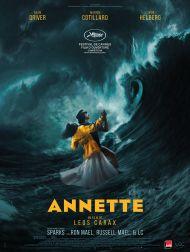 sortie dvd  Annette